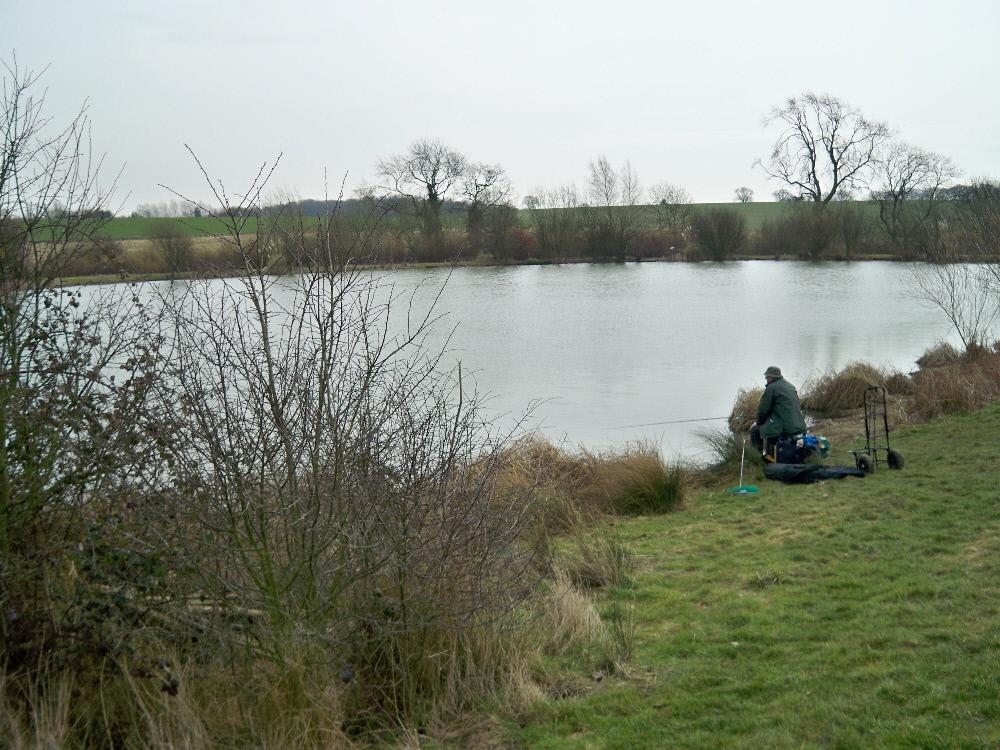 Fishing at Boley Road